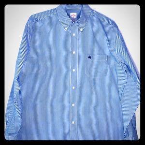 Brooks Brothers Men's Shirt Long Sleeve Size M